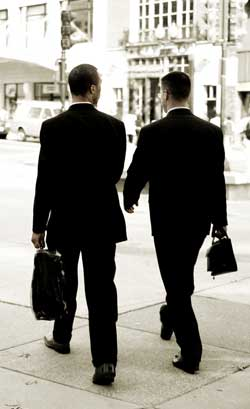 Management Consulting - Two Men